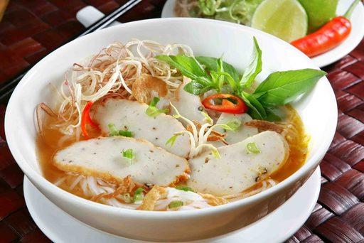 Bún chả cá du lịch Nha Trang